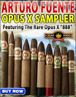 Arturo Fuente Opus X 888 Sampler (10 Cigars) + FREE SHIPPING ON YOUR ENTIRE ORDER!