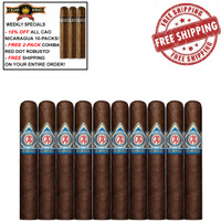 CAO Nicaragua Tipitapa Robusto (4.8x50 / 10 PACK SPECIAL) + 15% OFF DISCOUNT + 3-PACK FREE COHIBA ROBUSTO + FREE SHIPPING ON YOUR ENTIRE ORDER!