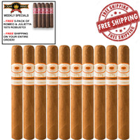 Romeo y Julieta 1875 Nicaragua Churchill (7x52 / 10 PACK SPECIAL) + FREE 5-PACK ROMEO Y JULIETA 1875 BULLY ROBUSTO + FREE SHIPPING ON YOUR ENTIRE ORDER!