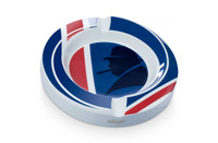 Davidoff Winston Churchill White Porcelain Ashtray Union Jack