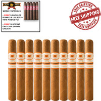Romeo y Julieta 1875 Nicaragua Toro (6x50 / 10 PACK SPECIAL) + FREE 5-PACK ROMEO Y JULIETA 1875 BULLY ROBUSTO + FREE SHIPPING ON YOUR ENTIRE ORDER!