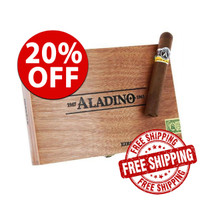 Aladino Robusto (5x50 / Box of 20) + FREE SHIPPING ON YOUR ENTIRE ORDER!