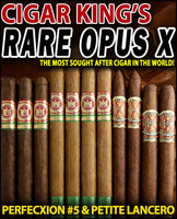 Arturo Fuente Opus X Petit Lancero Vs. Opus X Fuente Fuente (11 Pack Sampler Special) + FREE SHIPPING ON YOUR ENTIRE ORDER!