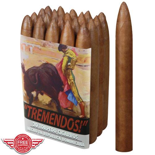 Cigar King Nude Phatties Tremendos Habano Belicoso L.E. (6x52 / Bundle 20)