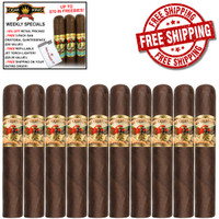 San Cristobal Coloso (6.75x62 / 10 PACK SPECIAL) + FREE 3-PACK SAN CRISTOBAL QUINTESSENCE + JETLINE TORCH LIGHTER + FREE SHIPPING ON YOUR ENTIRE ORDER!