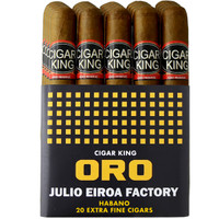 Cigar King Oro By Aladino Eiroa Habano Gordo (6.5x60/ Bundle Of 20) + FREE SHIPPING ON YOUR ENTIRE ORDER!