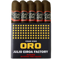 Cigar King Oro By Aladino Eiroa Maduro Gran Toro (6.25x54 / Bundle Of 20) + FREE SHIPPING ON YOUR ENTIRE ORDER!