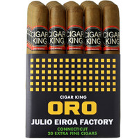 Cigar King Oro By Aladino Eiroa Connecticut Corona (5x44 / Bundle Of 20) + FREE SHIPPING ON YOUR ENTIRE ORDER!