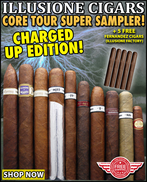 Illusione Cigars Charged Up Core Tour Sampler