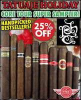 Tatuaje Holiday Core Tour Super Sampler (10 PACK SPECIAL) + FREE SHIPPING ON YOUR ENTIRE ORDER!