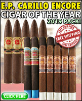 E.P. Carillo Encore 2019 Cigar Of The Year Sampler (15 CIGAR RARE SAMPLER) + FREE SHIPPING ON YOUR ENTIRE ORDER!