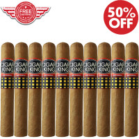 Cigar King Oro By Aladino Eiroa Connecticut Gordo (6x60 / 10 PACK SPECIAL) + FREE SHIPPING ON YOUR ENTIRE ORDER!