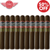 Cigar King Oro By Aladino Eiroa Maduro Gordo (6x60 / 10 PACK SPECIAL) + FREE SHIPPING ON YOUR ENTIRE ORDER!