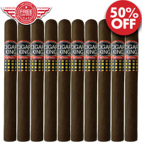 Cigar King Oro By Aladino Eiroa Maduro Churchill (7x52 / 10 PACK SPECIAL) + FREE SHIPPING ON YOUR ENTIRE ORDER!