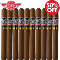Cigar King Oro By Aladino Eiroa Habano Churchill (7x52 / 10 PACK SPECIAL) + FREE SHIPPING ON YOUR ENTIRE ORDER!
