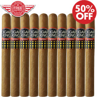 Cigar King Oro By Aladino Eiroa Connecticut Churchill (7x52 / 10 PACK SPECIAL) + FREE SHIPPING ON YOUR ENTIRE ORDER!