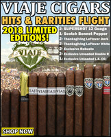 Viaje Brand Hits & Rarities Flight Feat. 2018 Limited Editions (12 Cigar Sampler)