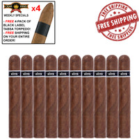 Illusione Ultra No. 7 (6.5x58 / 10 PACK SPECIAL) + FREE 4-Pack Black Label TABSA Torpedo + FREE SHIPPING ON YOUR ENTIRE ORDER!