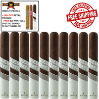 Fratello Navetta Enterprise (6x60 / 10 PACK SPECIAL) + FREE $30 3-PACK FRATELLO SAMPLER + FREE SHIPPING ON YOUR ENTIRE ORDER!