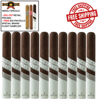 Fratello Navetta Endeavor (6.25x54 / 10 PACK SPECIAL) + FREE $30 3-PACK FRATELLO SAMPLER + FREE SHIPPING ON YOUR ENTIRE ORDER!