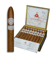 Montecristo White No. 2 Torpedo  (6.13x52 / Box 27) + 12 FREE CIGARS + FREE SHIPPING ON YOUR ENTIRE ORDER!