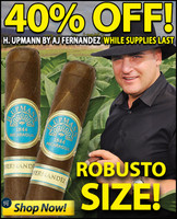 Upmann by AJ Fernandez Robusto (5x52 / 10 PACK BLOWOUT) + 40% OFF RETAIL!