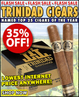 Trinidad Santiago Toro (6x54 / 10 PACK SPECIAL) + 35% OFF + FREE SHIPPING ON YOUR ENTIRE ORDER!
