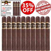 Casa Cuevas Maduro Gordo (6x60 / 10 PACK SPECIAL) + 3-PACK FREE CASA CUEVAS MADURO + FREE SHIPPING ON YOUR ENTIRE ORDER!