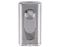 XIKAR Verano Flat Flame Silver Lighter
