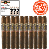 Alec Bradley Magic Toast Robusto (5x52 / 10 Pack) + FREE $50 MYSTERY 5-PACK!