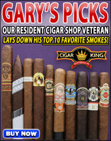 Gary's Picks - Our Resident Cigar Shop Veteran's Favorite Cigars (10 CIGAR FLIGHT) + FREE SHIPPING ON YOUR ENTIRE ORDER!