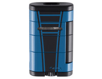 XIKAR Allume Double Lighter High Performance Mach Blue