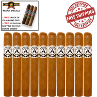 Aladino Connecticut By Julio R. Eiroa Churchill (7x52 / 10 PACK SPECIAL) + FREE 3-PACK OF CK ORO BY ALADINO + FREE SHIPPING ON YOUR ENTIRE ORDER!