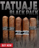 "Tatuaje Black ""Black Pack Sampler"" (5 PACK FLIGHT)"
