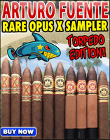 *SOLD OUT* Arturo Fuente Opus X Perfecxion X Torpedo Edition Sampler (10 CIGAR SPECIAL) + FREE SHIPPING ON YOUR ENTIRE ORDER!