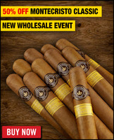 Montecristo Classic Churchill (7x54 / 10 PACK SPECIAL) + 50% OFF! + FREE SHIPPING ON YOUR ENTIRE ORDER!