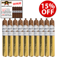 Casa Fernandez Aganorsa Leaf Signature Selection Corona Gorda (6x44 / 10 PACK SPECIAL) + 15% OFF RETAIL + FREE $50 5-PACK OF CASA FERNANDEZ AG LIMITED EDITION + FREE SHIPPING ON YOUR ENTIRE ORDER!
