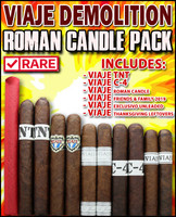 Viaje Demolition Roman Candle Pack (11 PACK SAMPLER) + FREE SHIPPING ON YOUR ENTIRE ORDER!