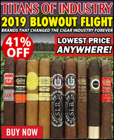 Titans Of Industry 2019 Variety Sampler (9 CIGAR SPECIAL) + 41% OFF RETAIL!