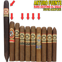 Arturo Fuente Rare Destino Al Siglo & The Man's 80th Sampler (10 CIGAR SPECIAL) + FREE SHIPPING ON YOUR ENTIRE ORDER!