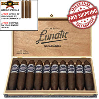 JFR Lunatic Loco Corojo Jalapa Maduro El Loquito Perfecto (4.7x60 / Box 10) + FREE JFR 3 PACK + FREE SHIPPING ON YOUR ENTIRE ORDER!