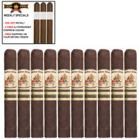 AJ Fernandez Bellas Artes Maduro Toro (6x54 / 10 PACK SPECIAL) + 3 FREE AJ FERNANDEZ CIGARS + FREE SHIPPING ON YOUR ENTIRE ORDER!
