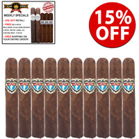 Viaje Exclusivo Nicaragua Leaded Robusto (5x52 / 10 PACK SPECIAL) + 15% OFF + FREE $50 PACK OF 2 Limited Edition Viaje Anniversary and 3 Limited Edition White Label AG CORONA MADURO + FREE SHIPPING ON YOUR ENTIRE ORDER!