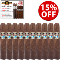Viaje Exclusivo Nicaragua Leaded Double R (5.5x54 / 10 PACK SPECIAL) + 15% OFF + FREE $50 PACK OF 2 Limited Edition Viaje C4's and 3 Limited Edition White Label AG CORONA MADURO + FREE SHIPPING ON YOUR ENTIRE ORDER!