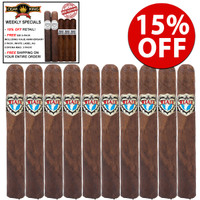 Viaje Exclusivo Nicaragua Leaded Toro (6x50 / 10 PACK SPECIAL) + 15% OFF + FREE $50 PACK OF 2 Limited Edition Viaje Anniversary and 3 Limited Edition White Label AG CORONA MADURO + FREE SHIPPING ON YOUR ENTIRE ORDER!
