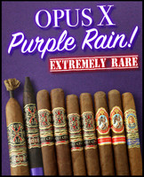 Rare Arturo Fuente Opus X Purple Rain Pack (9 PACK SPECIAL) + FREE SHIPPING ON YOUR ENTIRE ORDER!