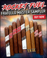 Fratello Rocket Fuel 2019 Master Sampler (9 CIGAR SPECIAL) + 28% OFF RETAIL PRICING + FREEBIES + FREE SHIPPING ON YOUR ENTIRE ORDER!