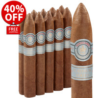 Montecristo Platinum Habano No. 2 Torpedo (6x50 / 10 PACK SPECIAL) + 40% OFF RETAIL + FREE SHIPPING ON YOUR ENTIRE ORDER!