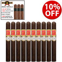 *SOLD OUT* HVC La Rosa 520 Exquisitos Maduros (5.75x46 / 10 PACK SPECIAL) + 10% OFF + 3 FREE HVC BLACK RELEASE CIGARS ($27 VALUE) + FREE SHIPPING ON YOUR ENTIRE ORDER!
