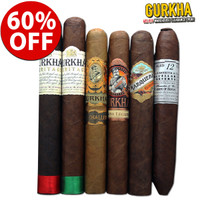 Gurkha Bestseller Super Pack (6 CIGAR SPECIAL) + 60% OFF RETAIL!